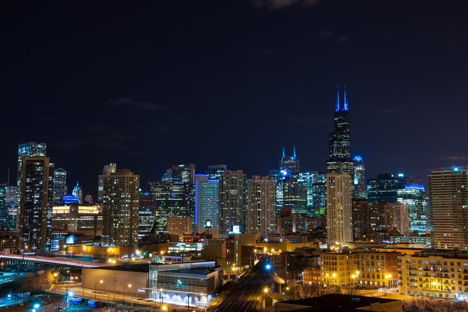 Chicago: Light it Up Blue